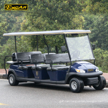 CE approved 11 seater electric golf cart electric sightseeing bus tour bus
