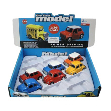 1: 36 Escala de Metal Pull Back Die Cast Car (10251018)