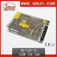 Fonte de alimentação de 120W 12VDC de tamanho pequeno para iluminação de tira LED