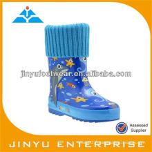 Bottes de gomme de pluie pour enfants