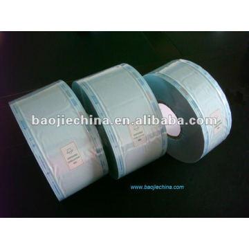 Esterilización médica plana Rollo de la bolsa