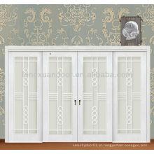 Porta deslizante porta deslizante de madeira madeira vidro porta deslizante interior portas de correr de vidro de madeira