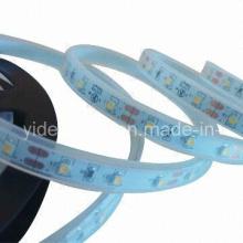 3528 SMD светодиодная лента полосы света теплый белый 12V DC 60 светодиодов / метр IP67 водонепроницаемый