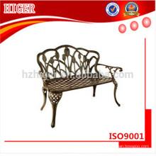 muebles de jardín de aluminio muebles de metal muebles de exterior conjunto de silla de ocio