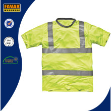 Hi-Vis Yellow Safety T-Shirt