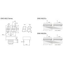 0.56inch 2 Digit 7 Segment Display (GNS-5622Cx-Dx)