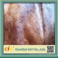 Tissu en polyester / coton 2014 pour canapé fabriqué en Chine