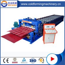 Double Decker Roof Tiles Forming Machinery