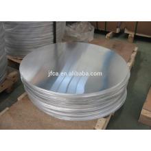 Alloy 1100 1050 3003 Cercle d'aluminium rond avec dessin profond pour les ustensiles de cuisine