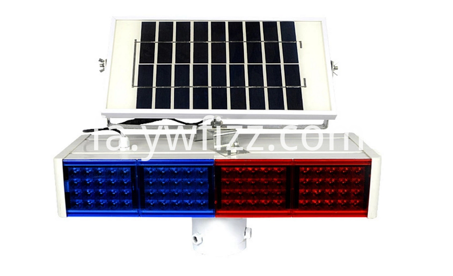 Solar Traffic Barrier Lights
