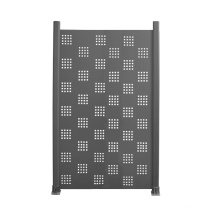 Modern design laser cut Aluminum Composite Plastic fence panel home yard panels