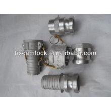 acoplamiento de conexión rápida de aluminio