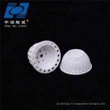 Base de douille de lampe à LED en céramique d'alumine de fabricant