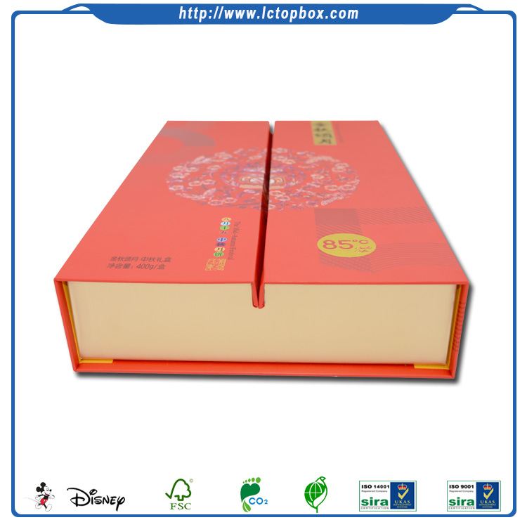 Disposable Magnet Cardboard Cake Packaging Box