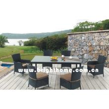 Сад отдыха Открытый Мебель обеденный комплект Bg-308