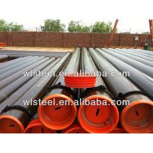 ASTMA106 / A53 api5l / q235 ERW / Calendrier sans interruption 40 tuyau en acier sans soudure api