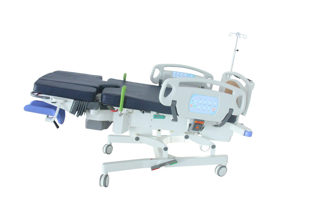 Obstetric and gynecology delivery bed