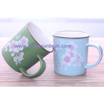 Sunboat Enamel Cup Enamel Mug Cup Coffee Cup Milk Cup Tableware Kitchenware/ Kitchen Appliance