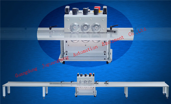 3-pole JGH-214 PCB cutting machine with 2.4m platform (2)