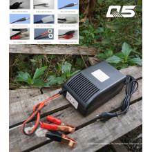 12V12A: 24V6A Sistema de conversión automática Acumulador de ácido de plomo de chorro Cargador de batería de almacenamiento de carga