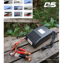 12V12A: Sistema de conversão automática 24V6A Trickle Bateria de ácido e chumbo Carregador Armazenamento Carregador de bateria