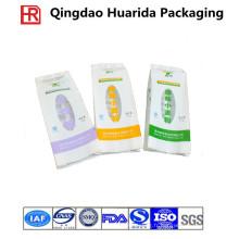 Sachets en plastique faits sur commande d'emballage de nouilles d'oreiller d'impression pour la nourriture