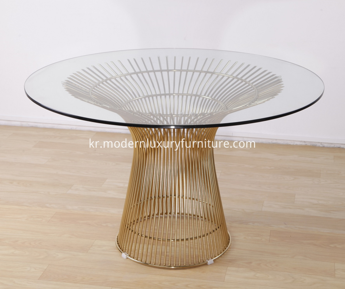 warren platner dining table replica