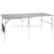 promotional camping furniure folding extention table
