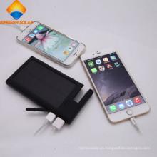 12000mAh dual USB carregador móvel solar