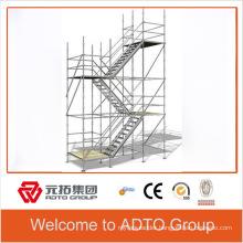 BS1139 standard galvanized scaffold stair system cuplock system