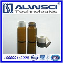 Freie Probe 10ml röhrenförmige Glasfläschchen mit PP-Kappe pharmazeutische Glasfläschchen Lagerung Durchstechflasche
