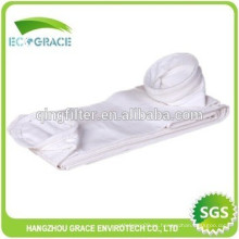 Bolsa de filtro de polvo de tela de PTFE para tratamiento de aire