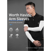 Rockbros Ice Fabric Running Arm Warmers UV Protect Arm Sleeves Basketball Camping Riding Outdoors Sports Wear Protective Sleeve