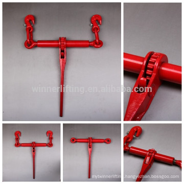 G100 red painted ratchet load ratchet tightener