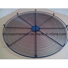 Garde de ventilateur de fil de métal cotaed de PVC