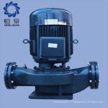 Pompe à eau centrifuge entraînée par courroie de niveau Sinlge