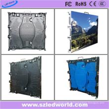 Arrendamento exterior / placa de exposição interna da mensagem do diodo emissor de luz para a fábrica de China do painel da tela