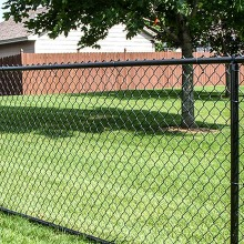 2017 new style PVC chain link fence