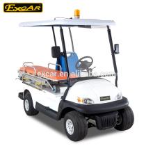 2 мест дешево электрическая тележка машины скорой помощи для продажи A1M2 скорой помощи для больницы