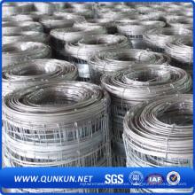 Paneles galvanizados de la cerca del ganado del metal del alambre