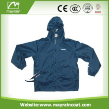 Packable Polyester Man Jacket Regenmantel