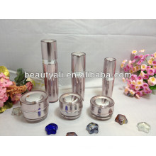 Acrílico cosmético crema de plástico frascos 15ml 30ml 50ml