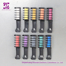High Quality Fashion Temporary Color Hair Chalk Comb