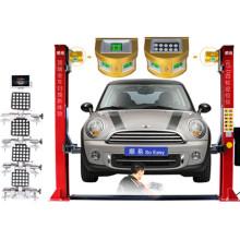 Регулировка четырех колес системы 5D