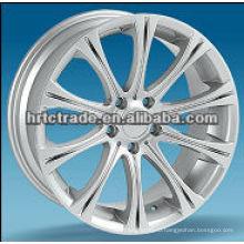 Серебряный / черный хром спорт алюминиевые легкосплавные колесные диски