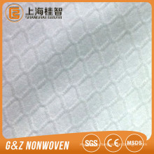 no woven fabric 100% polyester embossed diamond E style spunlace nonwoven fabric