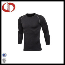 Blank Long Sleeve Kompression Top Herren Shirts Großhandel