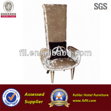 Modern and decent hotel armless sofa chair for restaurant (FLL-YZ-110)