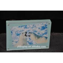 Populärer heißer Verkaufs-hoher Acryleinbettung-nahtloser heiß-drückender Foto-Rahmen