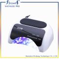Secador de unhas para luz de lâmpada UV de gel de cura de acrílico